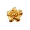 Bronze Bead Flower Dimensional 13mm